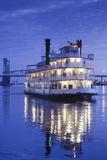 USA  North Carolina  Wilmington  River Boats on the Cape Fear River