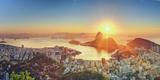 Brazil  Rio De Janeiro  View of Sugarloaf and Rio De Janeiro City