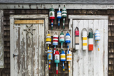 USA  Massachusetts  Cape Ann  Rockport  Rockport Harbor  Lobster Buoys