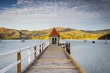 Historic Wharf  Akaroa  Banks Peninsular  South Island  New Zealand