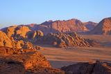 Tourist Taking Photographs  Wadi Rum  Jordan  Middle East