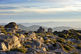The Top of the Highest Mountain Range in Continental Portugal Serra Da Estrela Nature Park