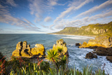 The Coast at Punakaiki  West Coast  South Island  New Zealand