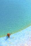 Sunbathing at Kempinski Hotel  Sowayma  Dead Sea (Lowest Place on Earth)  Jordan
