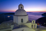 Church in Thira  Santorini  Cyclades  Greece