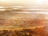 Portugal  Alentejo  Monsaraz  Overview of Landscape