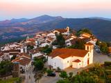 Portugal  Alentejo  Marvao  Medieval Village at Dusk