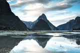 Mitre Peak  Milford Sound  Fiordland National Park  South Island  New Zealand