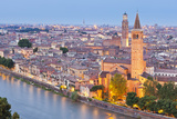 Italy  Italia Veneto  Verona District Verona View from Castel San Pietro