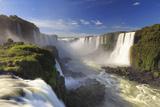 Brazil, Iguassu Falls National Park (Cataratas Do Iguacu), Devil's Throat (Garganta Do Diabo) Papier Photo par Michele Falzone