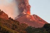Italy  Sicily  Mt Etna  Dawn