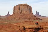 Navajo Indian  Monument Valley  Navajo Tribal Lands  Utah  Usa