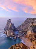 Portugal  Estramadura  Ursa   Seascape at Dusk