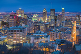 Canada  Quebec  Montreal  Oratory of Saint Joseph  Elevated City View from Mount Royal Park