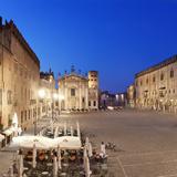 Italy  Lombardy  Mantova District  Mantua  the Cathedral in Sordello Square