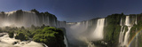 Brazil  Parana  Iguassu Falls National Park (Cataratas Do Iguacu) Illuminated Only by Monlight