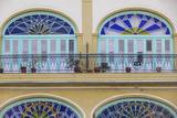 Cuba  Havana  Havana Vieje  Plaza Vieja  Colonial Building Details