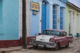 Cuba  Trinidad  Classic American Car in Historical Center