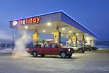Gas Station  Fairbanks  Alaska  Usa