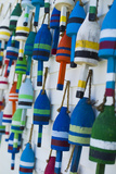 USA  Maine  Stonington  Decorative Lobster Buoys