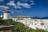 Mykonos-Town  Mykonos  Cyclades  Greece