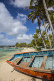 Beach at Trou D'Eau Douce  Flacq  East Coast  Mauritius
