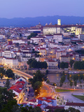 Portugal  Coimbra  Overview at Dusk(Mr)