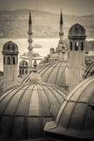 Turkey  Istanbul  Sultanahmet  Domes