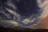A Windy Autumn Night Above Mount Damavand