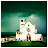 Storm Clouds Above the Basilica of San Francis of Assisi