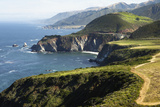 The Bixby Creek Bridge the Scenic Big Sur Pacific Ocean Coast