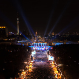 The New Year's Eve 2013 Celebration at the Brandenburg Gate