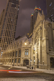 Saint James Chapel and the Archdiocese of Chicago  in the Snow  2013