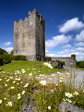The Restored 15th Century Dysert O'Dea Castle in County Clare  Ireland