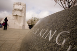 A Low-Angle View of the National Memorial to Dr Martin Luther King