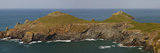 Rugged Cliffs at Rumps Point  Near Padstow  on the Atlantic Coast of Cornwall  England