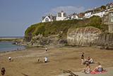 The Harbor Beach at Port Isaac  Near Padstow  on the Atlantic Coast of Cornwall