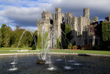 A Fountain on the Grounds of Ashford Castle  County Mayo  Ireland