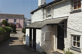 Traditional Cottages in the Coastal Village of Portscatho  Near Falmouth  Cornwall