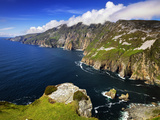 Sea Cliffs of Slieve League in County Donegal  Ireland
