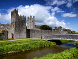 Holy Trinity Church and Augustinian Abbey at Fethard in Tipperary  Ireland