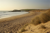 The Sands of Constantine Bay  Looking Towards Trevose Head  Near Padstow  Cornwall