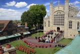 The Order of the Garter Ceremony at Saint George's Chapel