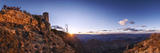 Tourists Watch Sunset over the Grand Canyon  the Longest Canyon on Earth
