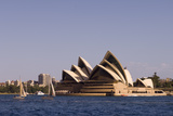 A View of the Sydney Opera House from across the Harbor