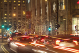 Holiday Lights Along Michigan Avenue's Magnificent Mile