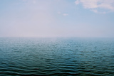 The Surface of the Water Is Rippled across a Large Lake