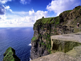 O'Brien's Tower on the Cliffs of Moher  County Clare  Ireland