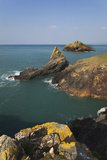 Coastal Cliffs at Rumps Point  Along the Atlantic Coast of Cornwall  Near Padstow