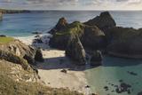 Kynance Cove  on the Lizard Peninsula  Near Helston  Cornwall